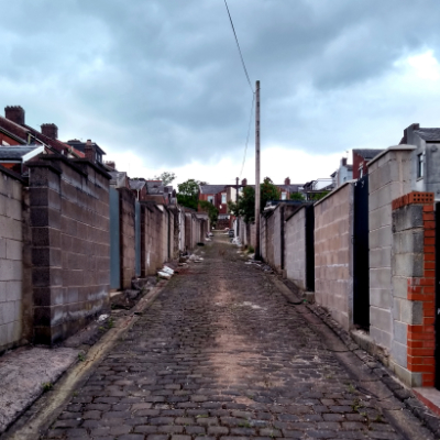 my blackburn alleyways by bread art collective