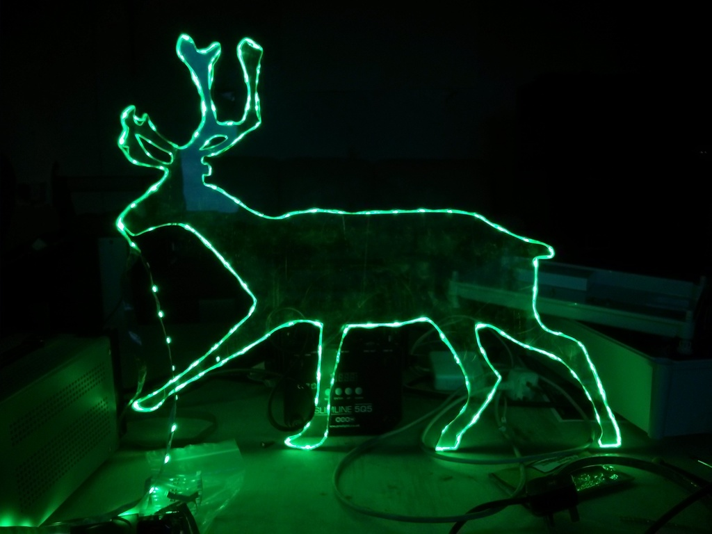 reindeer by bread art collective