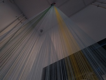 hanging by a thread by bread art collective